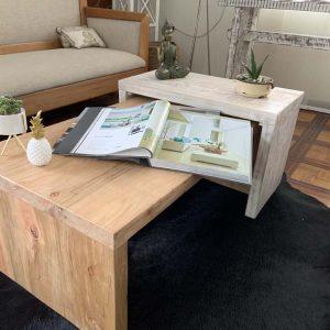 Mesa nido madera dos colores-2